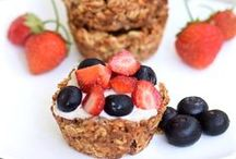 Clean Eating Breakfast / Healthy, clean eating, breakfast recipes - gluten free and dairy free dishes