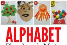 Alphabet Activities for Preschoolers / Hands-on alphabet activities to help preschoolers learn their ABC's and letter sounds.