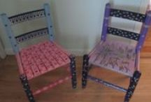 Chairs / Painted Chairs