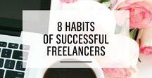 Entrepreneur + Business Tips / Tips and resources for bloggers and entrepreneurs who want a profitable blog + online business. Business Tips, Freelancing Advice, Small Business Tips, Entrepreneur Tips