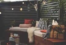 Outdoor Living: Spaces. / The fabulous outdoor spaces that feel as welcoming as home.