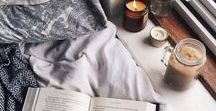 Cosy: Indoors. / Inspiration for digging in indoors and getting cosy over the Autumn and Winter months.