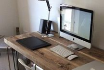 Home Style: Workspace. / Inspiration for my dream workspace, home office.