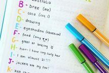Kinderkram // Bullet Journals für Kinder / Ideen für ein Bullet Journal für Kinder // Urlaubserinnerungen und die persönlichen Stärken immer wieder vor Augen haben