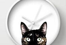 Wall Clocks / Designed wall clocks from Society6