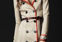 Trench Coat Love / Trench coats | Tailoring ideas| Couture inspiration | Sewing inspiration | Coat ideas