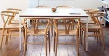 home: dining room | Esszimmer / My favorite dining room settings. *** Meine liebsten Esszimmer.