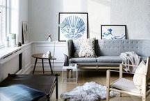 home: living room | Wohnzimmer / I'd love to cuddle up on the couch in one of these beautiful rooms. *** In diesen Wohnzimmern würde ich es mir gerne mal gemütlich machen.
