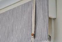 decor: window treatments | Fenstergestaltung