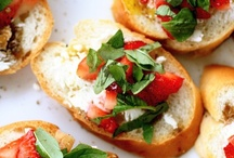 Summer Yum / Summer is the time to sit back, relax, and enjoy some good food with great company. These colorful and tasty dishes are sure to get you in the summer spirit!