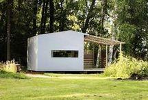 architecture: cottages and cabins | Häuschen und Hütten