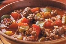 Recipes-Soups / by Tulsa Hosmer Schappell