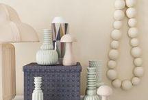 color: pastels | Pastell / Interiors in pastels *** Wohnen in Pasteltönen