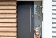 home: entrances, vestibules, additions | Eingangsbereiche