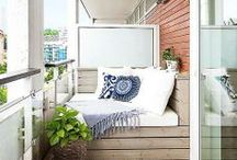home: balcony | Balkon