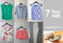 garderobeplanning / Hoe stel je een garderobe samen die gemakkelijk te combineren is? En hoe ziet dat er dan uit?