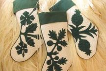 Holiday Quilts & Applique / Quilting and appliqué holiday projects.