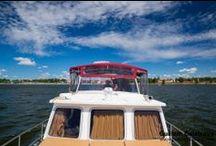 La Pologne en bateau / Le Boat vous propose des croisières dans la région des Lacs de Mazurie, une région située au nord de la Pologne, et qui comprend plus de 2 000 lacs !