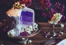 """~simply cake~ / ~ """"Life is short, eat dessert first."""" ~ / by Ashlyn Huffman"""