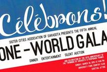 2015 One World Gala / The Gala for 2015 / by Sister Cities Association of Sarasota