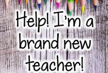 "First Year Teachers / Are you a brand new teacher starting your first year? Think of this board as your ""New Teacher Survival Guide."" Although it's your first Back To School Month, you don't need to go it alone!"