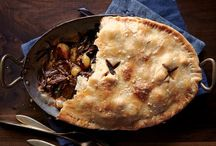 Dinner Pies / Warm, hearty filling wrapped in a buttery crust? Count us in for a dinner pie (and then a pie again for dessert.)