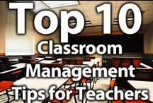 Classroom Management / A few pointers via Pinterest to help you create and maintain the best learning environment for your classroom.