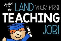 How to Land a Teaching Job / We share advice from real teachers, to help you land your dream job of teaching!