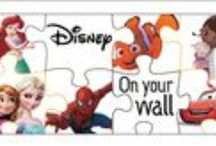 Disney on your wall / wall decals for your kids