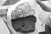 {Art} / paint, pen, pencil and paper. / by Caitie Legg
