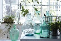 Glass / Vintage and antique glass is perfection. I want it all.