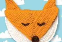 Pics of makes from my designs in Simply Crochet / For any pics of the fox purse from Simply Crochet Issue 10. All welcome! Let me know if you want to pin and I will invite you, or let me know if you have already pinned your fox and I will add it to the board. Contact details at caramedus.com