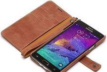 Stilige Galaxy Note 4 deksler og vesker
