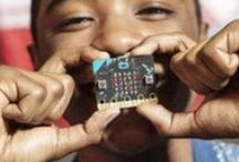 BBC micro:bit / The BBC micro:bit is a tech tool, like a Swiss Army knife, that can be applied to almost any problem or project you can imagine. Rollout began this February!   Don't be fooled by its micro size. It's jam-packed with cool capabilities.