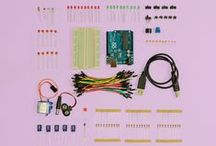 Start Arduino Kit / Start your journey into the wonderful world of programmable electronics. Learn to write your own code to make LEDs flash, speakers buzz and motors spin!