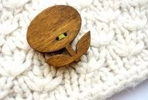 Buttons - Wood / by michellepatterns