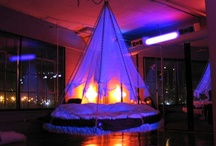 Hanging Beds, Chairs & Tents / Hanging, canopy beds & chairs for dreaming, relaxing and rocking to sleep are so fun to create decor around: tents, fabric swags and privacy netting.