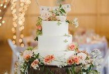 Wedding Cakes / by @MadeWithLoveDesigns Clare Fletcher