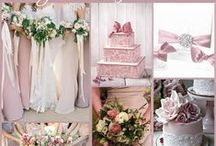Dusky Pink Wedding Ideas / by @MadeWithLoveDesigns Clare Fletcher
