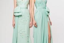 Mint Green Aqua Wedding Ideas / by @MadeWithLoveDesigns Clare Fletcher