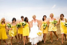 Yellow Wedding Ideas / by @MadeWithLoveDesigns Clare Fletcher