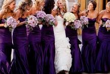 Purple Wedding Ideas / by @MadeWithLoveDesigns Clare Fletcher