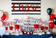 paige simple | nautical birthday party