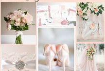 Blush Wedding Ideas / by @MadeWithLoveDesigns Clare Fletcher