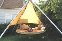 Hanging Outdoor Hammock Beds