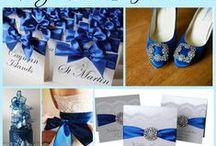 Royal Blue Wedding Ideas / by @MadeWithLoveDesigns Clare Fletcher