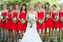 Red Wedding Ideas / by @MadeWithLoveDesigns Clare Fletcher