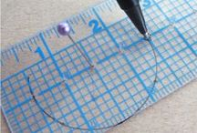 Sewing Tools / Some of my favorite tools and notions for sewing + other tools that look interesting/useful.