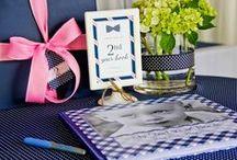 paige simple | preppy tie shop party