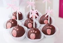 puppy party ideas for girls (brown) / pink puppy party inspirations